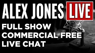 LIVE 📢 Alex Jones Show • Commercial Free • Sunday 9/24/17 ► Infowars Stream thumbnail