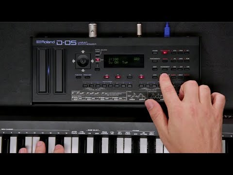 Roland D-05 Boutique Linear Sythesizer