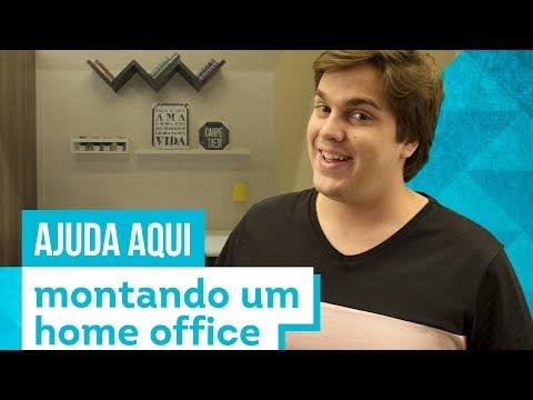 Home office - Aprenda a montar o seu com Lucas Salles - CASA DE VERDADE