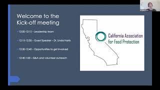 CALFP 2021 Kick Off Webinar on 1-7-2021