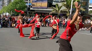 Auckland Diwali festival 2017 || street dance performance