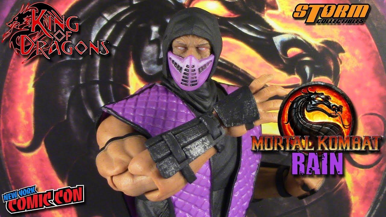 IN STOCK NYCC 2018 Storm Collectibles Mortal Kombat RAIN SMOKE 1:12 Figures
