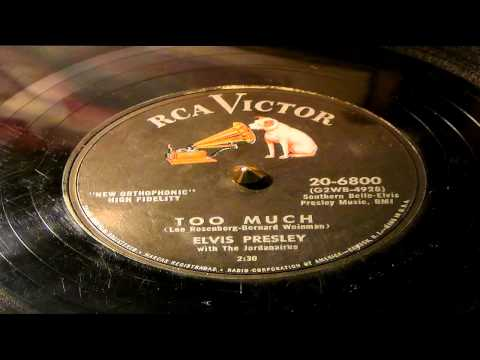 Too Much - Elvis Presley (RCA Victor)