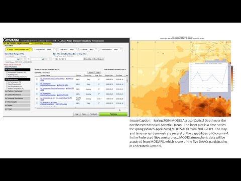 NASA Earthdata Webinar: Redesigning Giovanni: More Data, More Plots, Faster Results