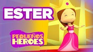 Historias de la Biblia para nios  Ester  Pequeos Hroes