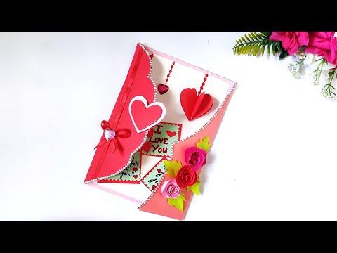 Pop up Birthday Card | beautiful Handmade birthday gift idea | love card