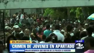 Cuatro jóvenes asesinados en Turbo, Antioquia