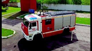 Пожарная автоцистерна на базе КАМАЗ 5387: обзор, тест-драйв, испытания. | #МУЖСКОЙРАЗГОВОР