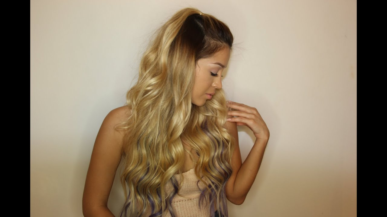 New ombre clip in extensions by bellami hair youtube pmusecretfo Choice Image