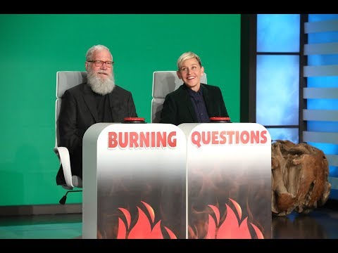 David Letterman Answers Ellen's Burning Questions - EXTENDED