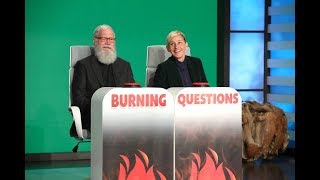 David Letterman Answers Ellen's