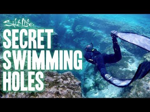 Secret Swimming Holes with Jiggin' With Jordan | Salt Life