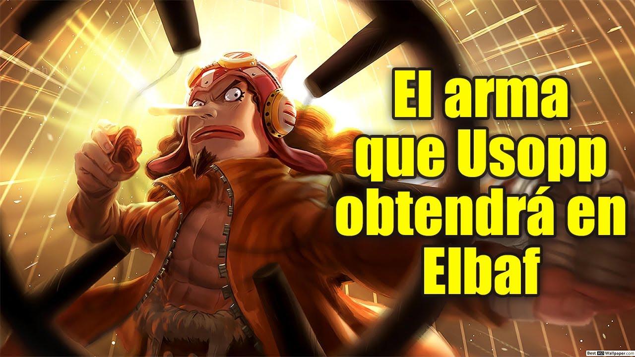 El POWER UP que USOPP Obtendrá en Elbaf | One Piece Teoría
