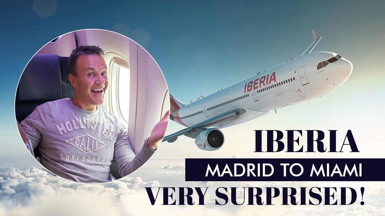 trip report of iberia a330 business class madrid to miami youtube trip report of iberia a330 business class madrid to miami