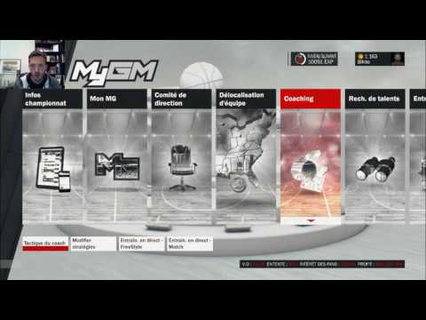 NBA 2K17 : Direct My GM Twitch avec les Nets #3
