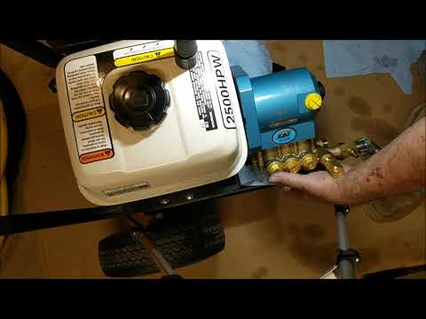 Install Cat Pump on a Honda GX200 Engine