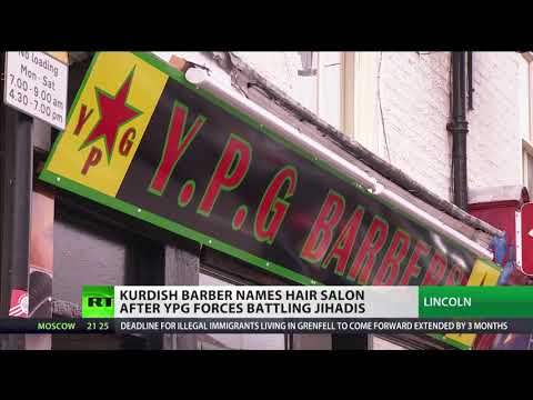 Kurdish barber names hair salon after YPG fighters