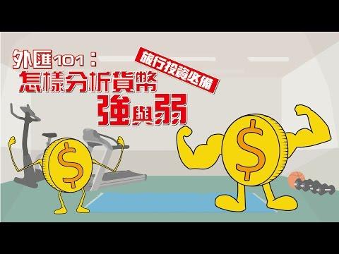 【專題教學】外匯101:怎樣分析貨幣強與弱(旅行投資必備)