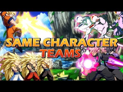 DBFZ: Same Character Teams Cheat Montage!