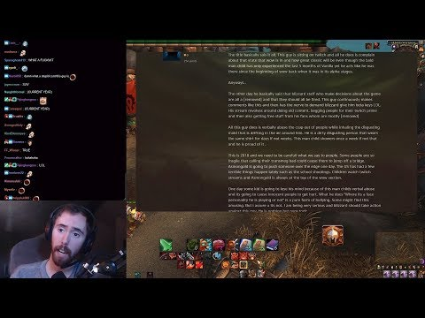 Asmongold Reacts to Someone Talking Shit About Him on the General Forums