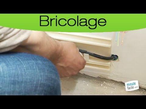 Comment poser une plinthe lectrique youtube - Plinthe pour cable electrique ...