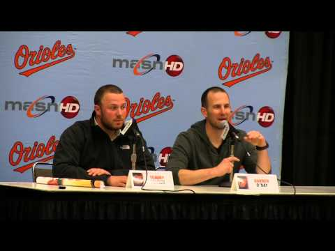 Funniest moments from the Orioles kid press conferences at FanFest