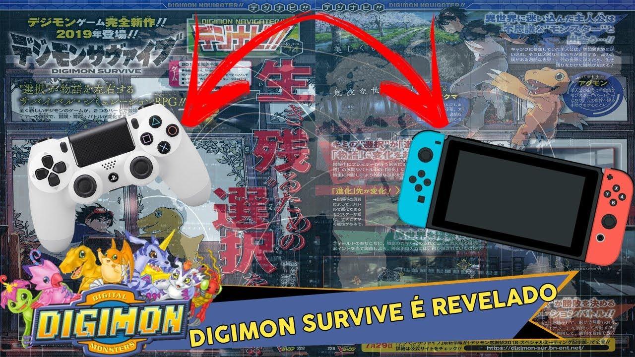 Digimon Survive é Revelado Para Playstation 4 E Nintendo