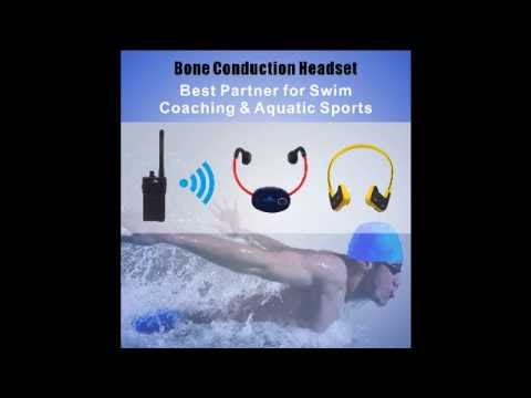 Bone Conduction devices for swimming training