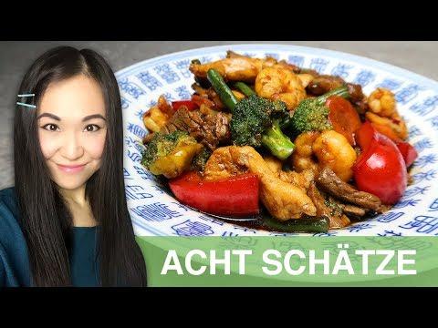 REZEPT: Acht Schätze | Acht Kostbarkeiten | Chop Suey | chinesisches Essen wie im Restaurant