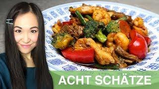 Gambar cover REZEPT: Acht Schätze | Acht Kostbarkeiten | Chop Suey | chinesisches Essen wie im Restaurant