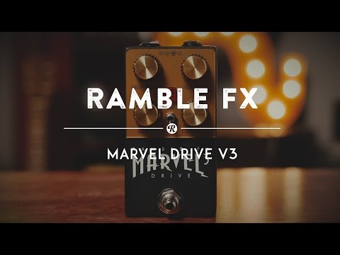 Ramble FX Marvel Drive V3 | Reverb Demo Video