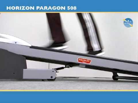 tapis de course horizon paragon 508 tool fitness