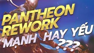 PHÂN TÍCH CHI TIẾT LỐI CHƠI PANTHEON REWORK ĐƯỜNG TRÊN PHIÊN BẢN 9.16