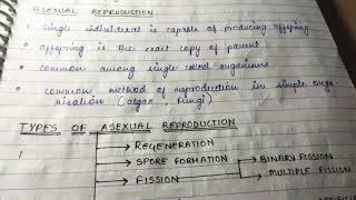 Class 12 Biology Handwritten Notes Pdf