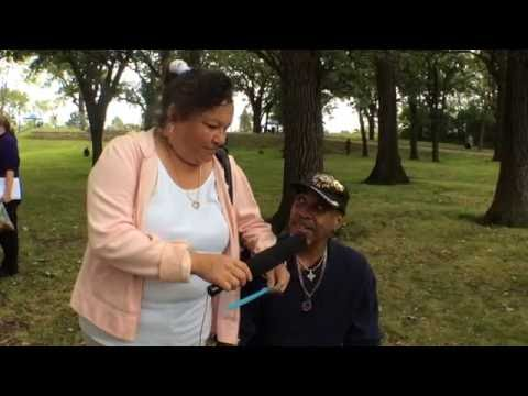 IMG 0058: Desire and David Powell's interview - Storymobile 2016 Harvest Fest