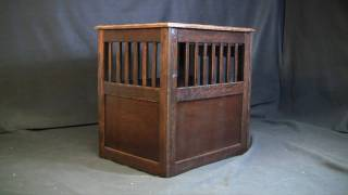 Medium End Table Crate