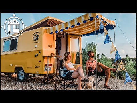 """Vintage Camper Trailer Restoration - Episode 3: """"After"""