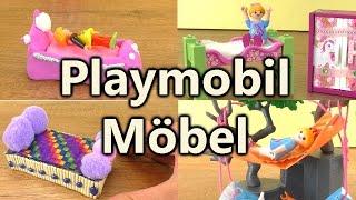 Playmobil Möbel Compilation | Coole Möbel für Playmobilfiguren selber bauen | Deutsch