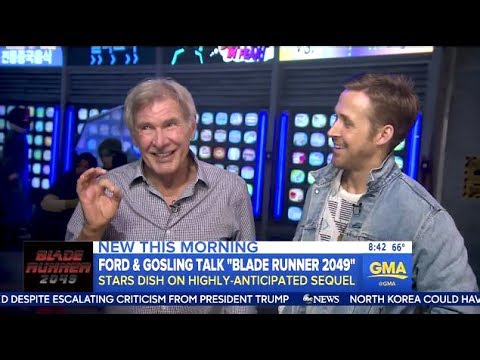 Thumbnail: Harrison Ford & Ryan Gosling - Chat Blade Runner 2049 - GMA