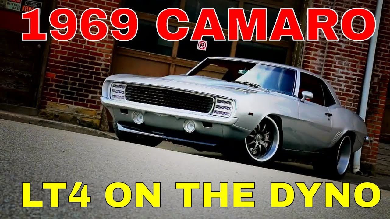 Pro-Touring 1969 Camaro Supercharged LT4 Swap Install Video V8TV Part 3 -  Dyno Time!