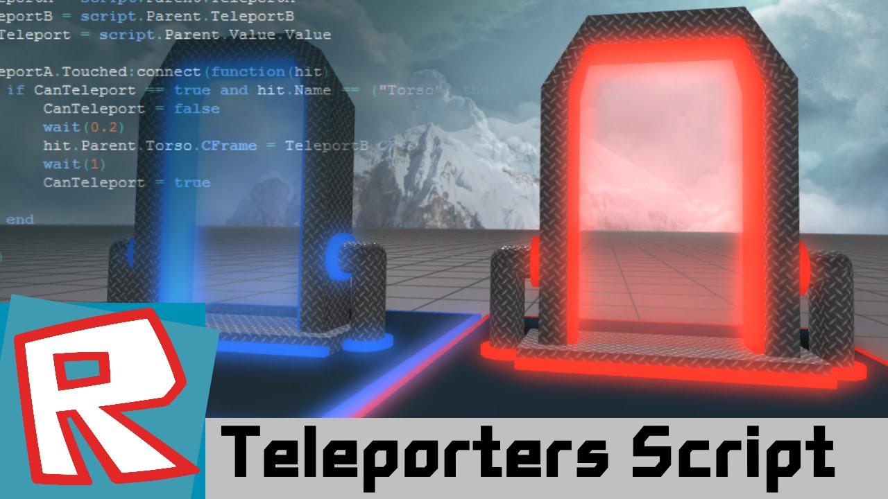[ROBLOX Tutorial] - Teleporters SCRIPT