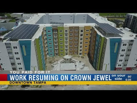You Paid For It: Tampa Housing Authority's $44 million 'Crown Jewel' back on track after lawsuits an