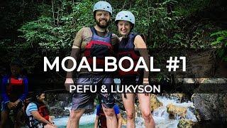 Filipíny - Moalboal canyoneering - PeFu&Lukyson