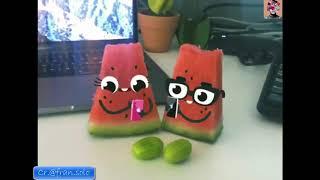 Говорящие разговаривающие фрукты и еда говорят