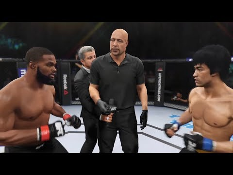 Tyron Woodley vs. Bruce Lee (EA Sports UFC 2) - CPU vs. CPU