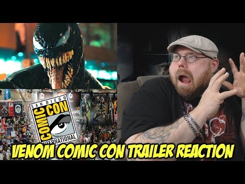 Venom Comic Con Trailer - Reaction!!!