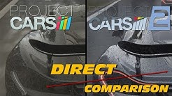Project Cars vs Project Cars 2 | Direct Comparison