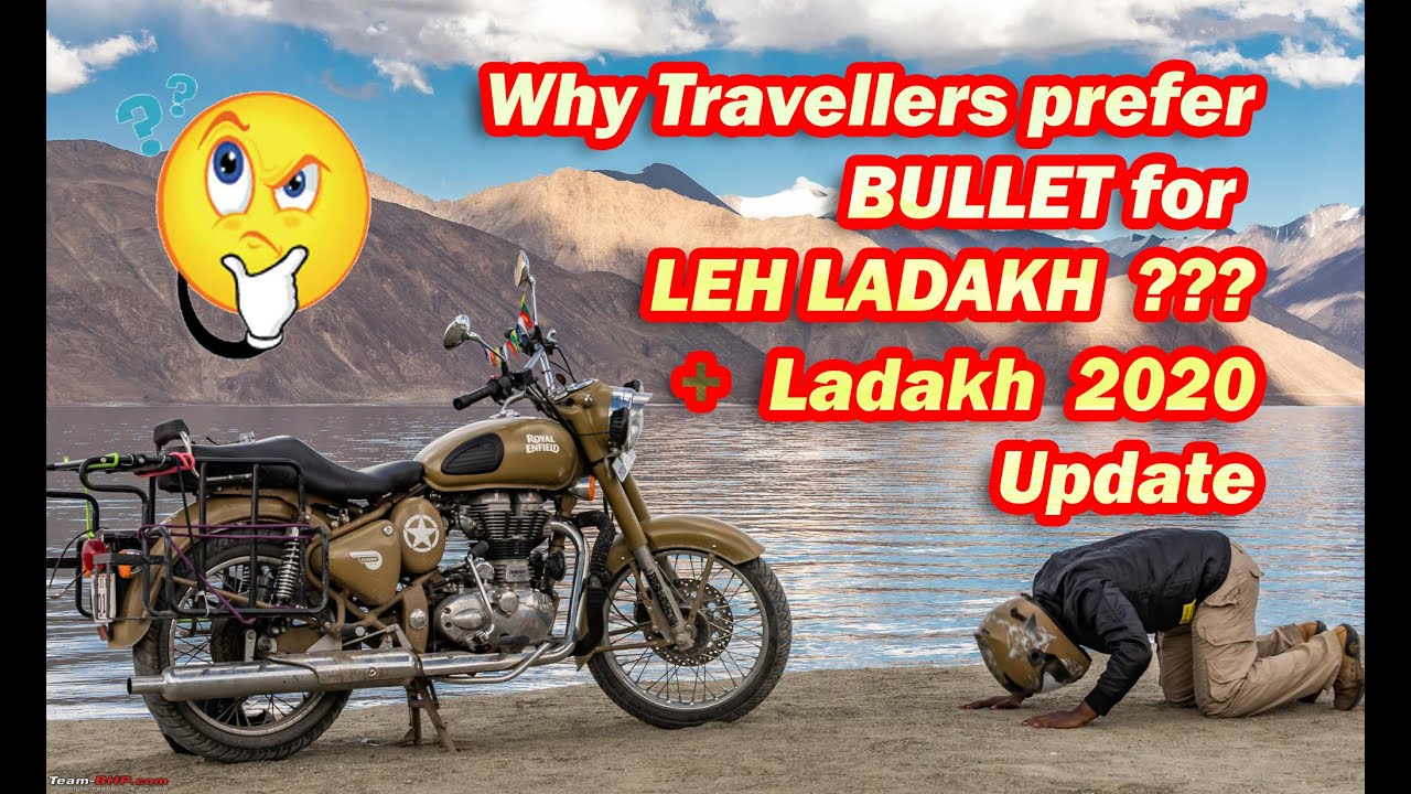 Why travellers prefer Bullet for Leh Ladakh | Leh Ladakh 2020 Update | Zaap Aqua Speaker