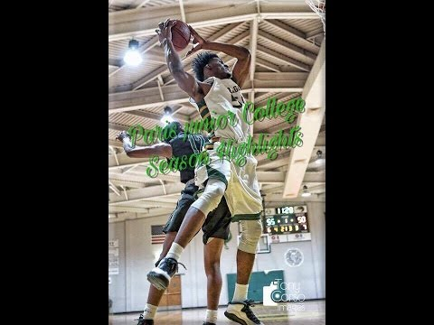 Shaquillo Fritz Paris Junior College Sophomore Year JUCO Season Highlights!!!