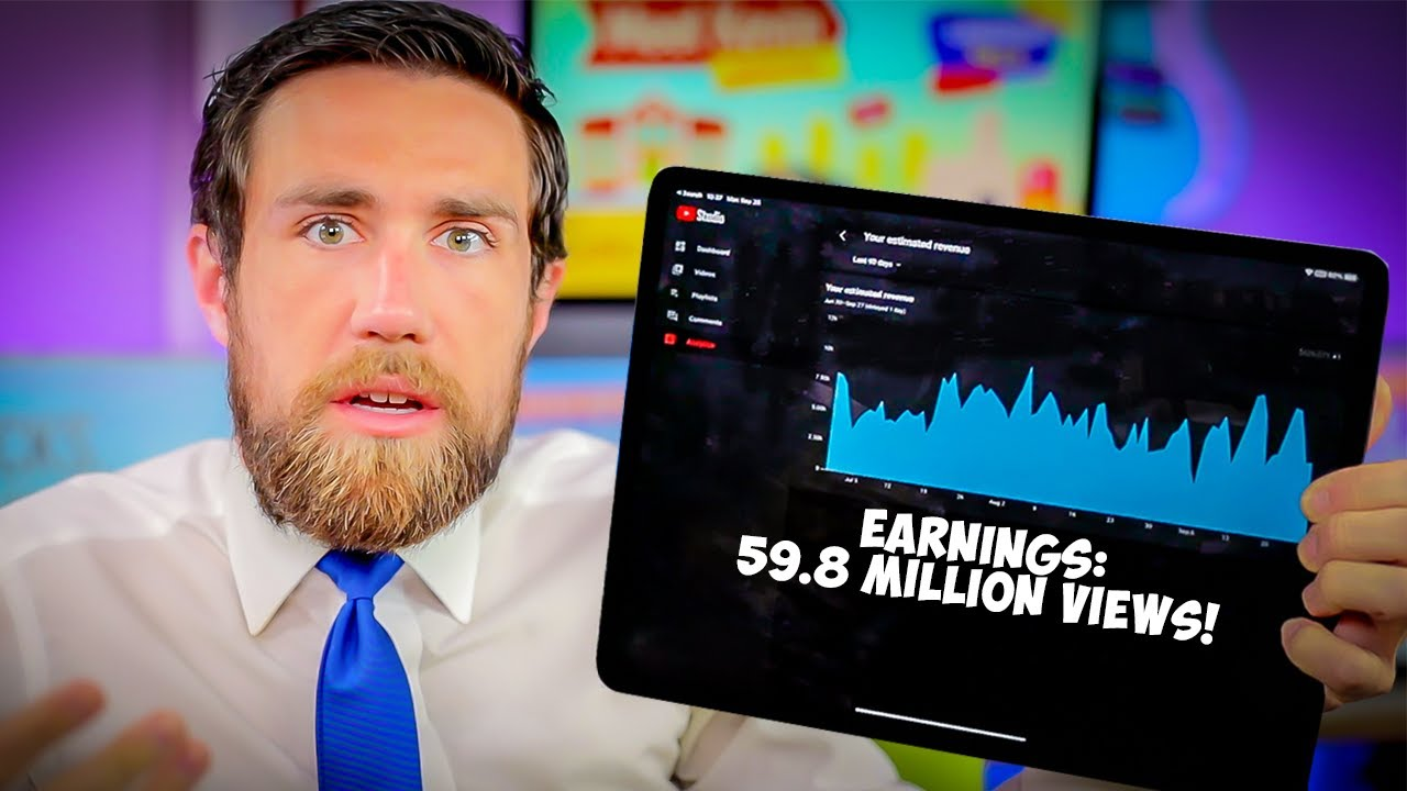 How Much Youtube Paid Me this Summer (800k Subscribers)